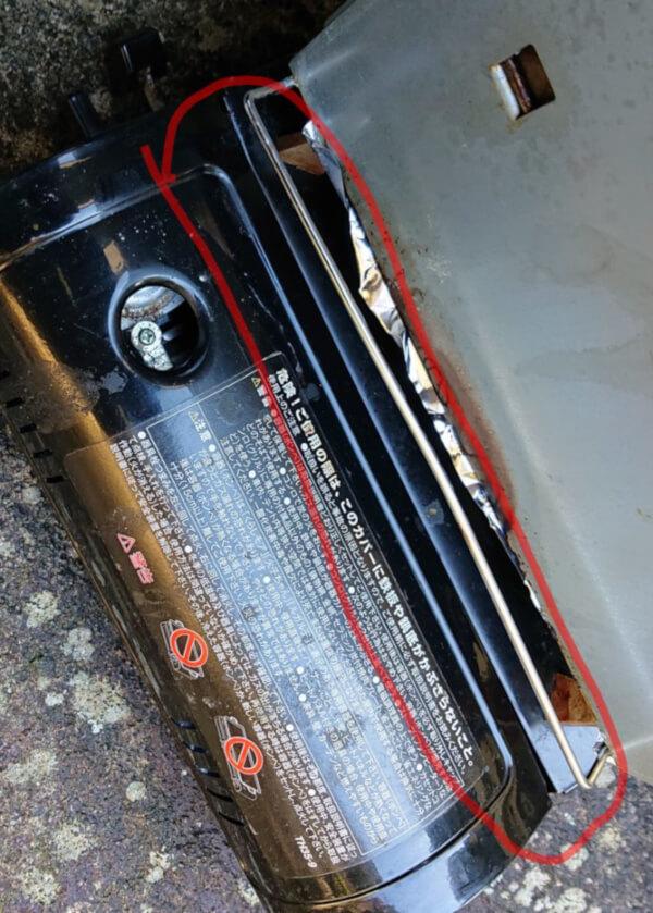 自家製燻製ハム用のカセットコンロで気を付ける点