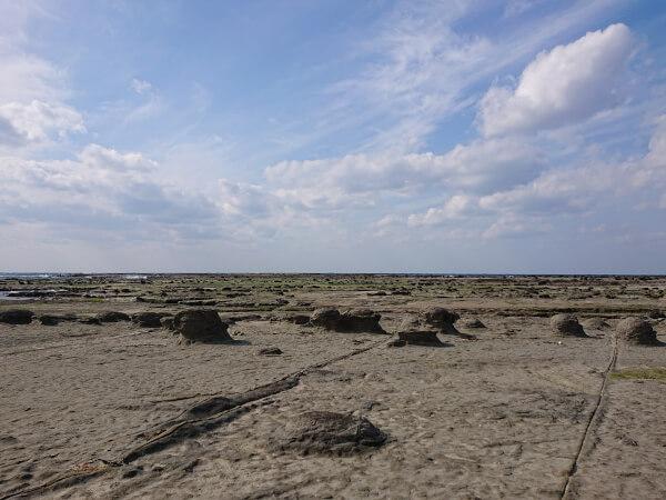 石見畳ヶ浦の千畳敷