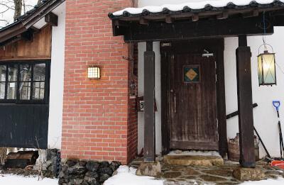 山荘HANAKI-入口
