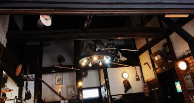 山荘HANAKI-室内の雰囲気(天井)